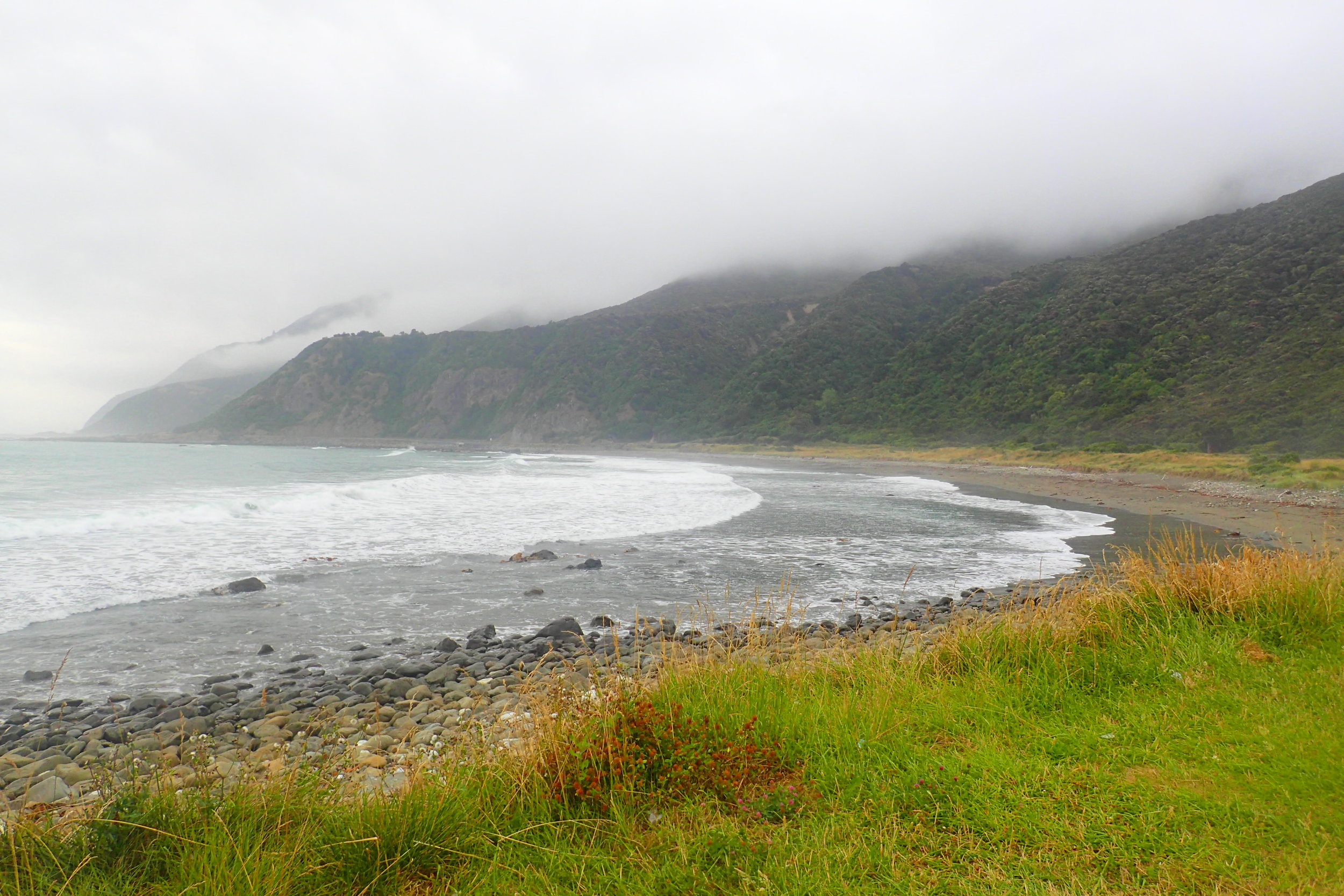 Image taken at a campsite in 2015 near Kairkoura on the east coast of New Zealand's south island