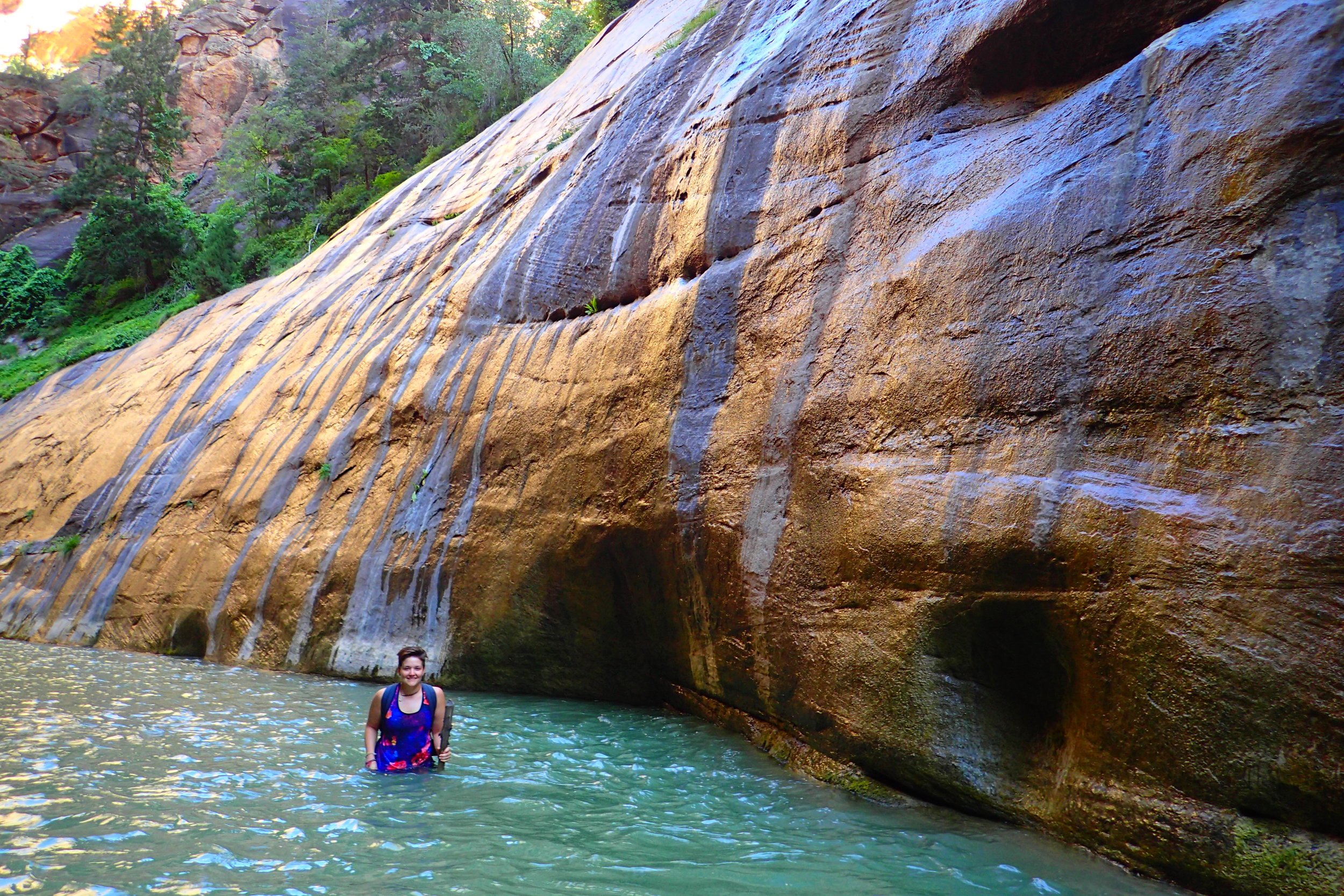 The Difficult Narrows Hike In Zion National Park Deviating The Norm