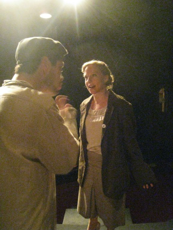 with Christopher Bischoff, photo by Lillian Wright