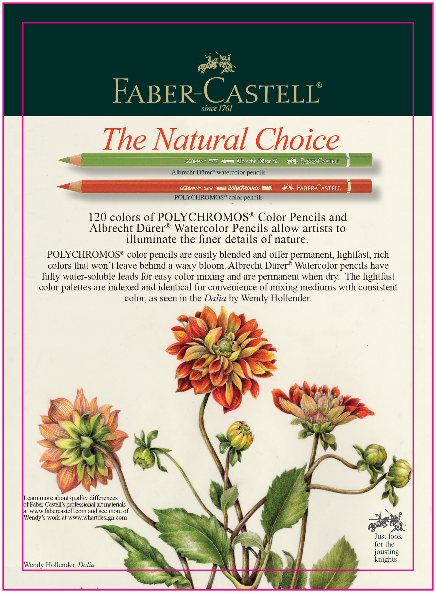 FABER-CASTELL  2010-present Illustrations for Faber-Castell's national advertising campaign.