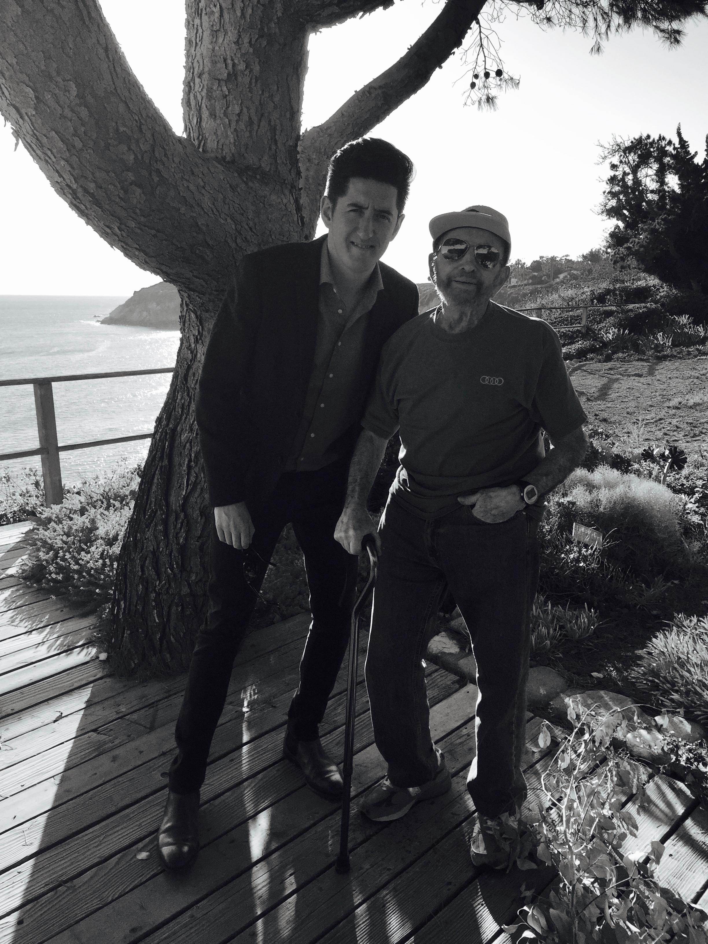 With the master,Johnny Mandel. Malibu CA, November 2015