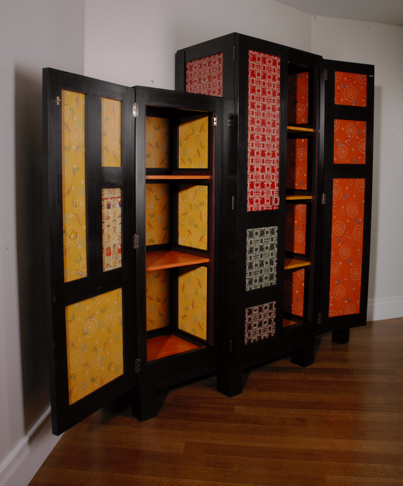 B and B Cabinet (inside view)