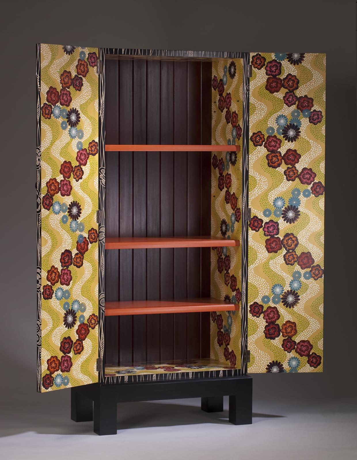 Dahlia Cabinet (open view)