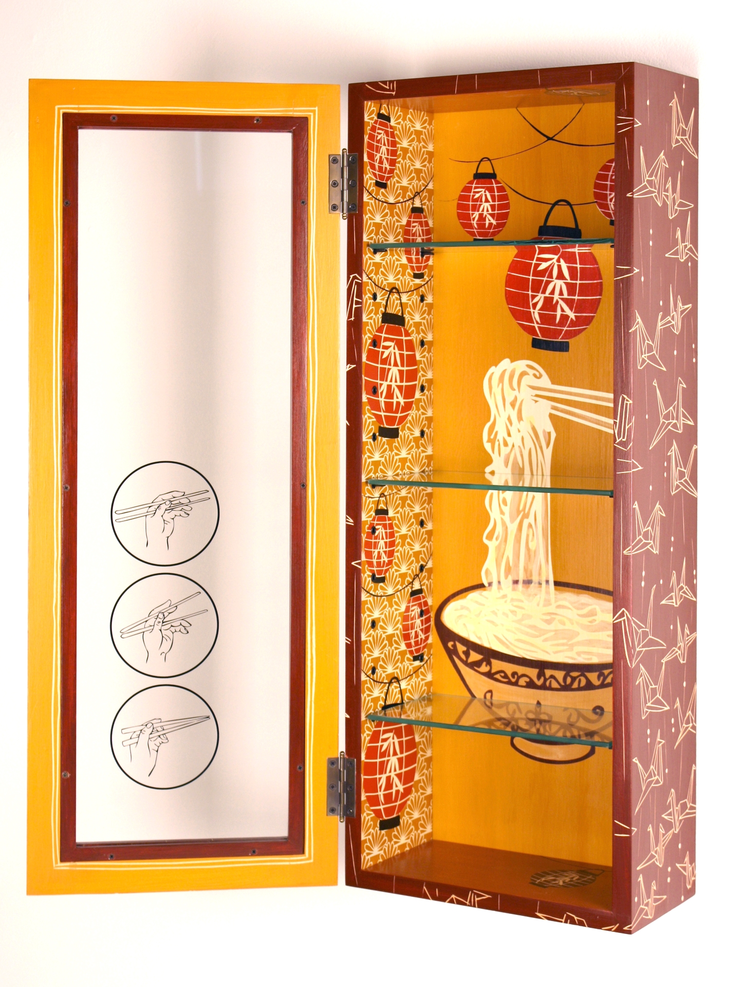 Kyoto Nights Cabinet (inside view)