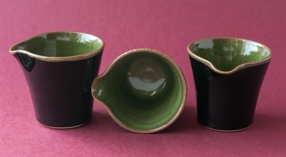 Topsy Jewell beautiful ceramic cream jugs