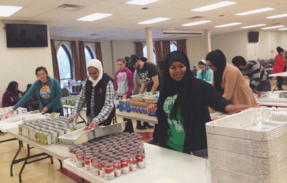 Project Downtown Cincinnati Volunteers