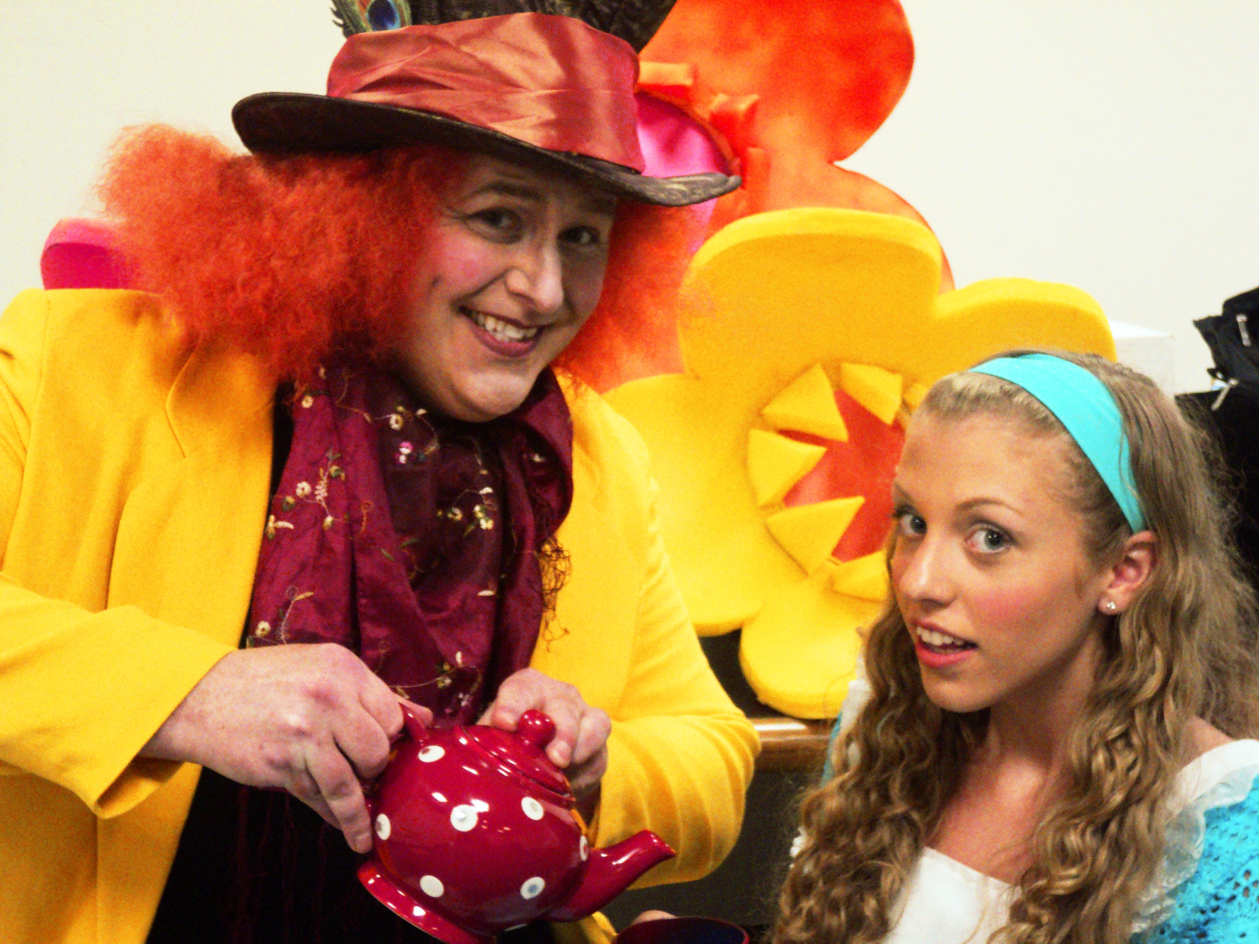 Alice in Wonderland, produced by CSPA and PMT Productions on the Ossining waterfront. It was a hot summer!