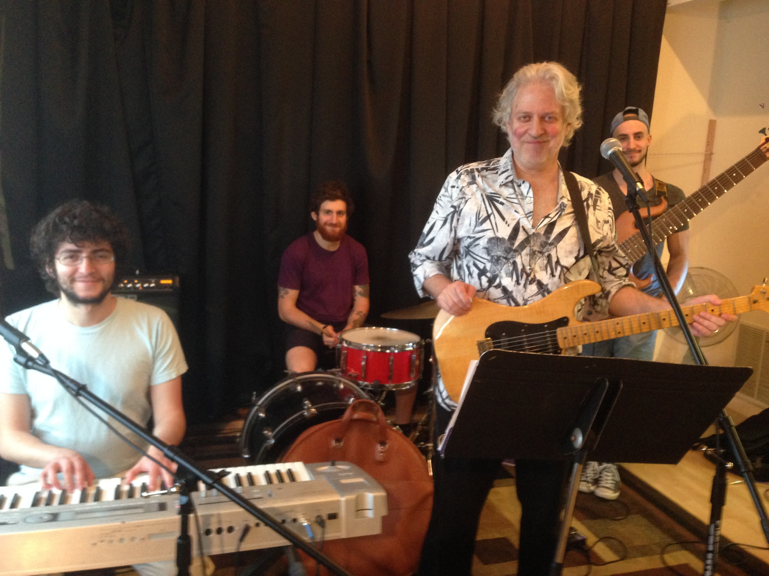 Dean Friedman and his band!