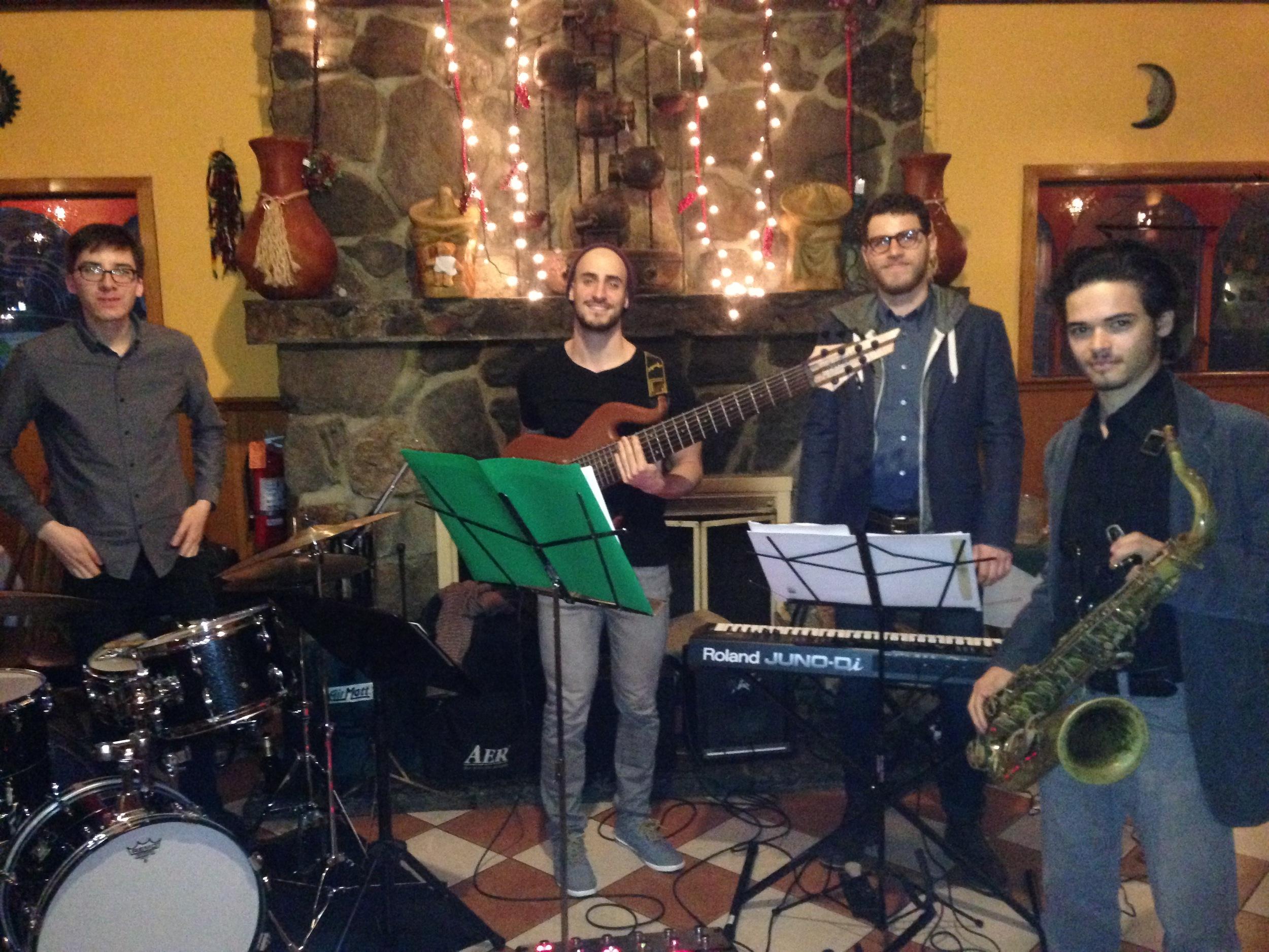 Steven Frieder Quartet at Tenampa