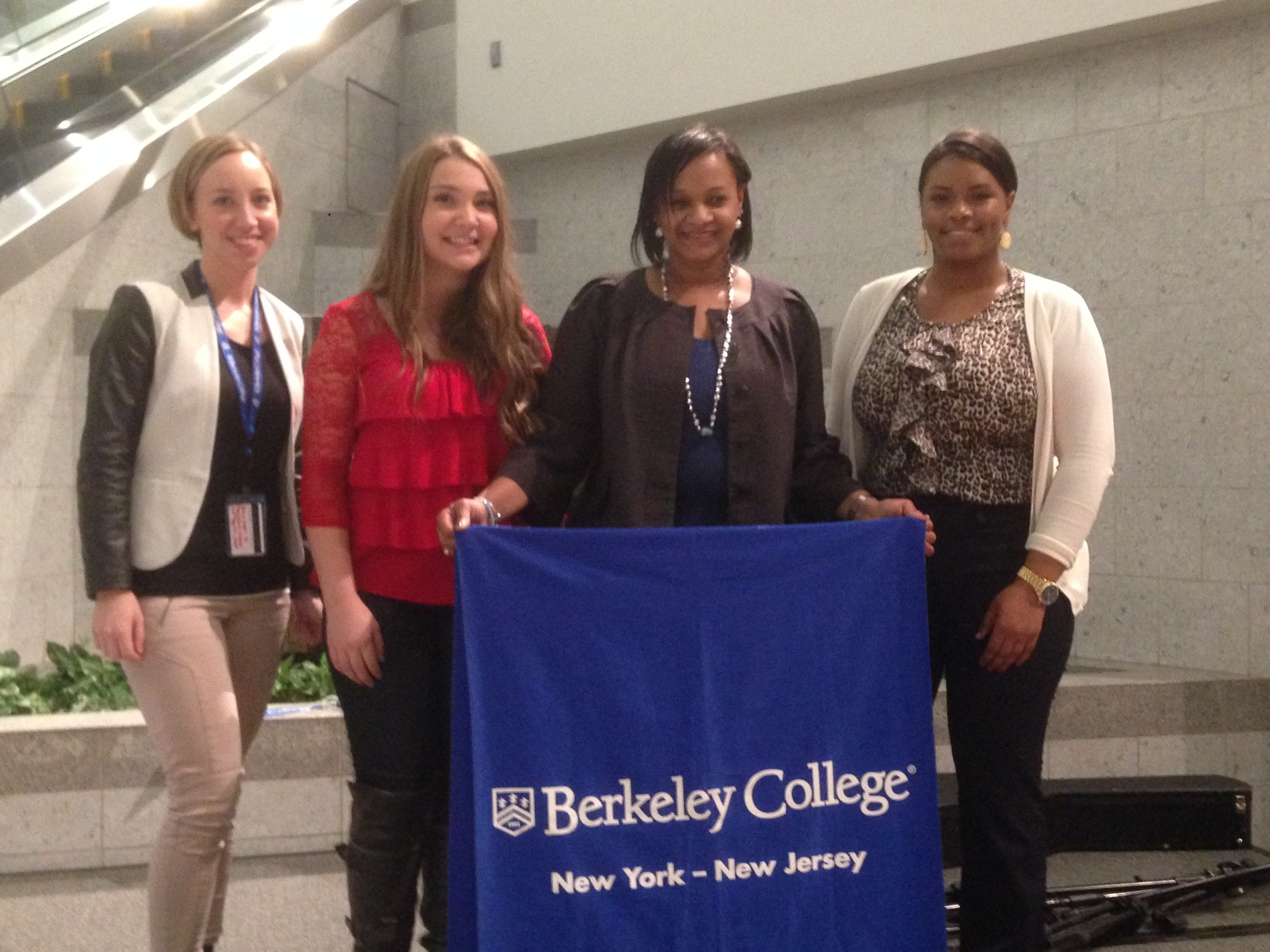 CSPA Voice Student Noelle Carlson wins a singing contest at The Galleria Mall White Plains, sponsored by Berkeley College.