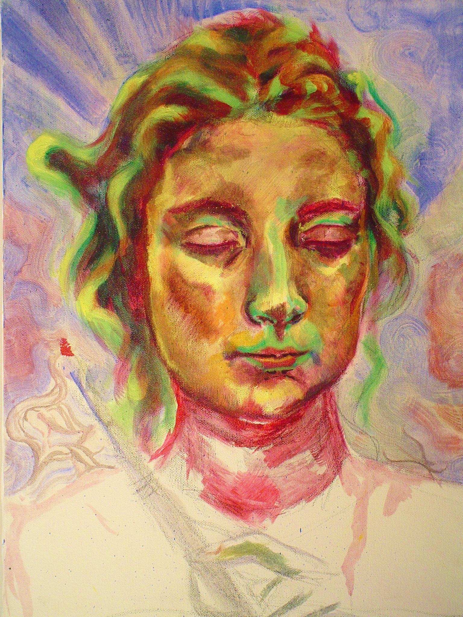 Listen. 2006  Oil on canvas