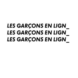 LES GARCONS EN LIGNE - MARSEILLE - 10/11/2014