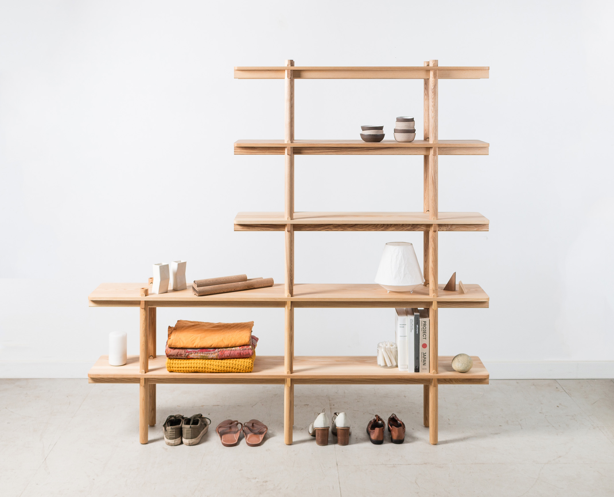 wedge shelf