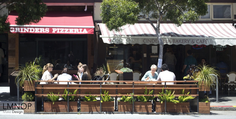 Cinderella Parklet - Bringing a bit of nature to Balboa Street