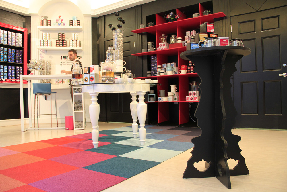 A playful space designed for customer experience -