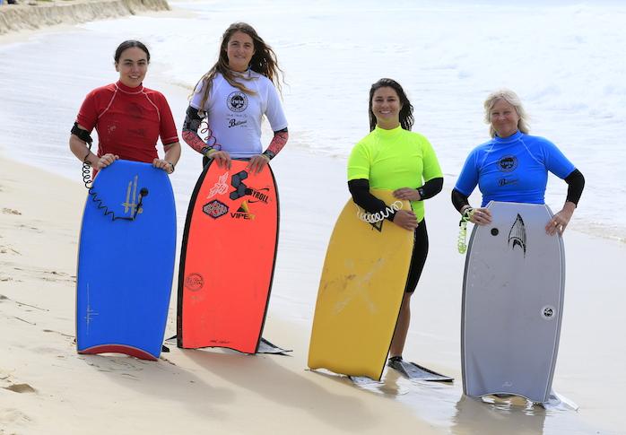 R - L: Melynne Rosamond, Tiegan Gillett, Ana Sadra, Eve Albury. Photo by Alan McCheane