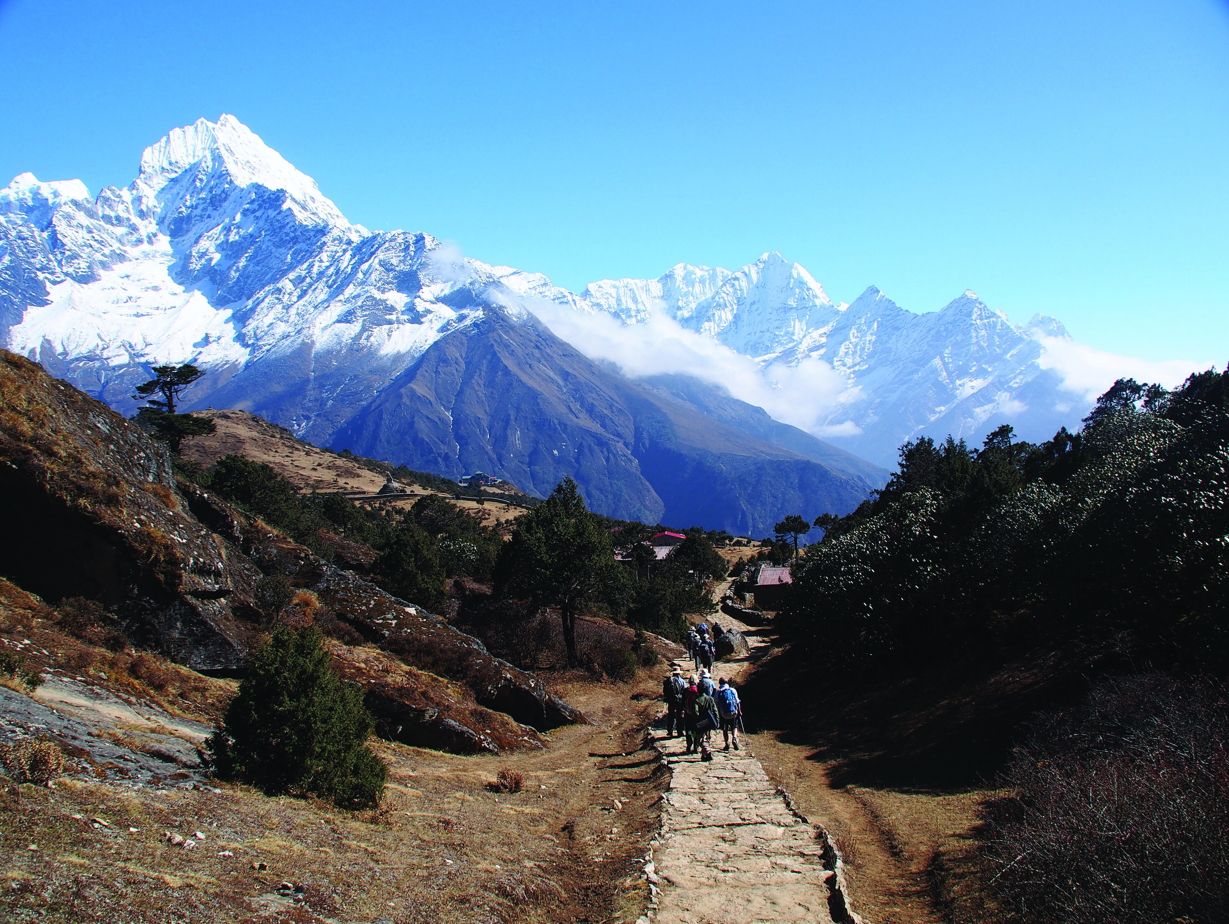 Above Namche Bazaar Everest Region
