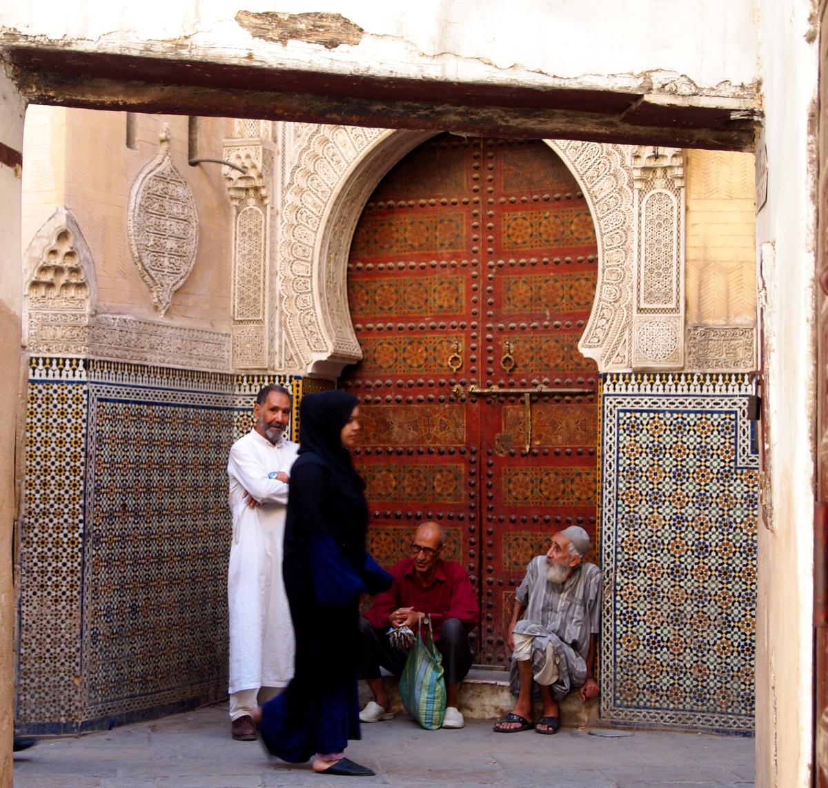 After Prayer Conversations, Grand Medina of Fez