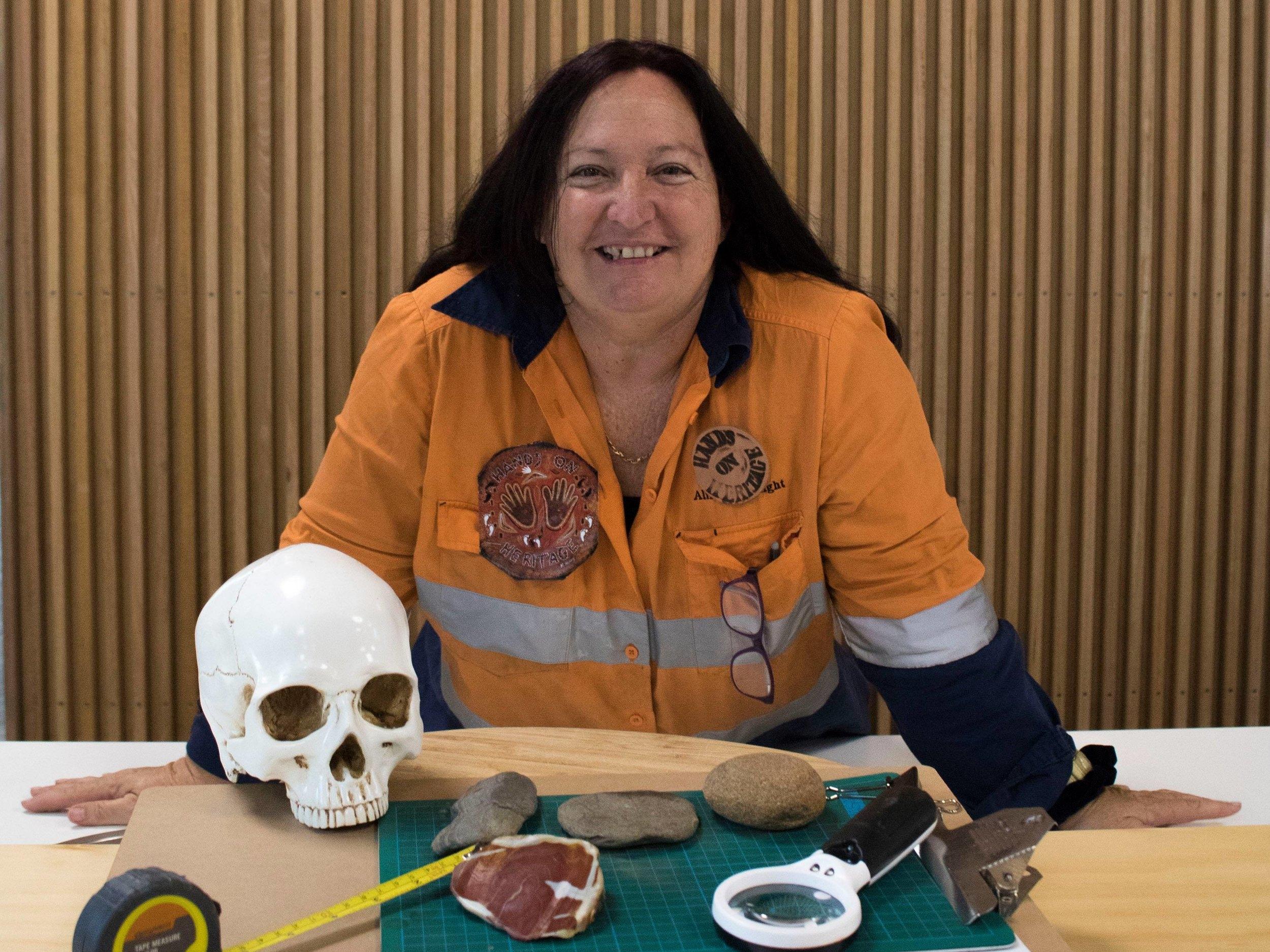 Jacinta Warland - Recipient of the Over 50's Women's Adventure Grant