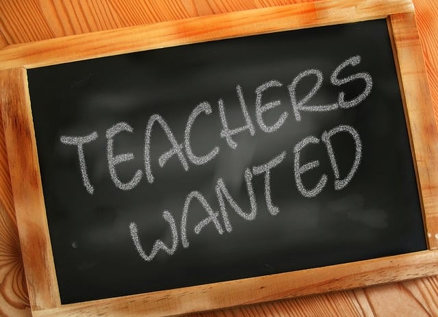 We need more teachers, and not just master teachers. Picture from www.pixabay.com CC0