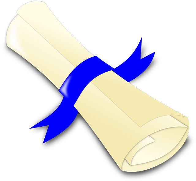 Diploma. Picture from Pixabay.com CC0