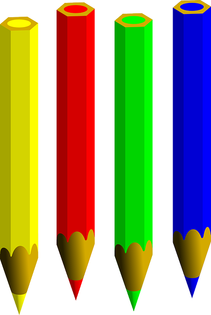 What colour shall we use today? Picture from www.pixabay.com CC0