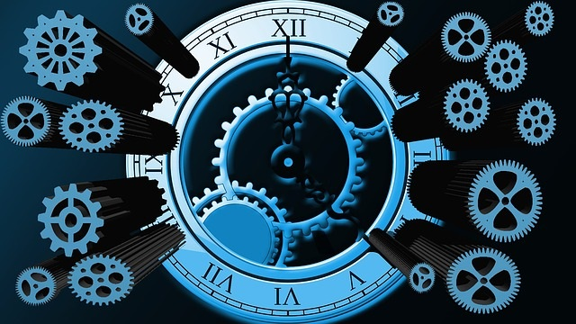 We've taken the chrono-mechanism apart in order to isolate the problem...