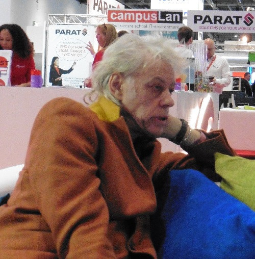 Sir Bob Geldof at Bett 2017. Photo (c) 2017 Terry Freedman.