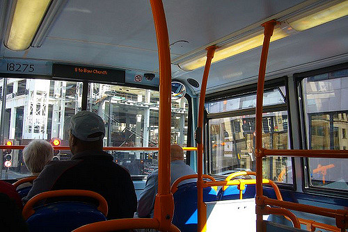 Inside a London Bus, by Terry Freedman