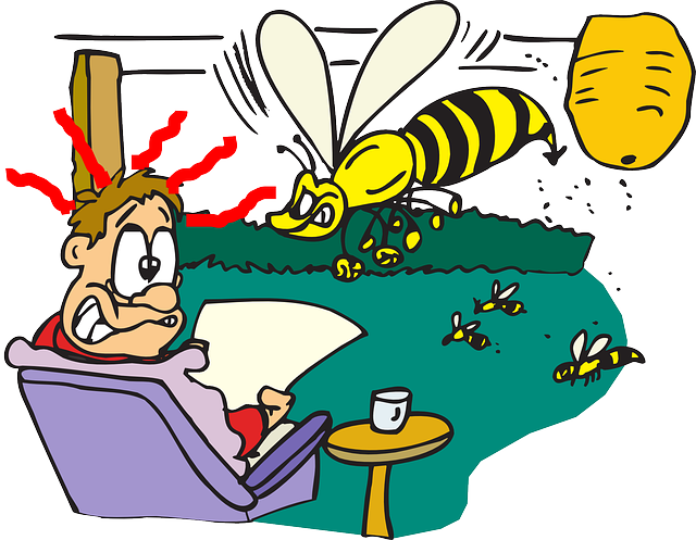 Waspish behaviour. Picture from  Pixabay . Licence: CCO