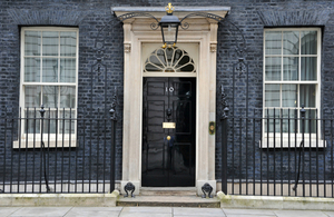 No. 10 Downing Street, where it all happened. Photo is copyright of www.gov.uk.