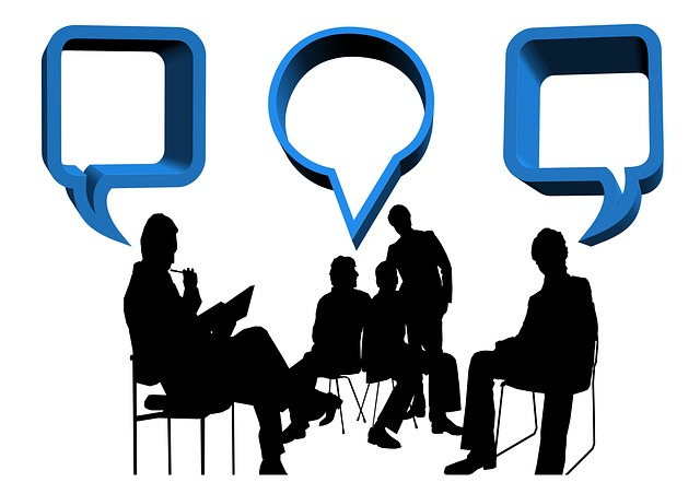 Bett is a great opportunity for networking and discussion. Picture from Pixabay.com Licence: CCO