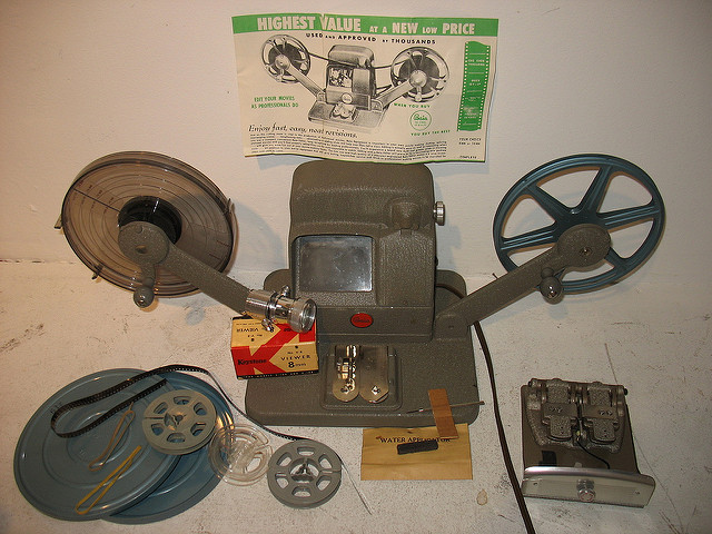 Film editor, by Housing Works Thrift Shop Licence: CC BY-SA 2.0