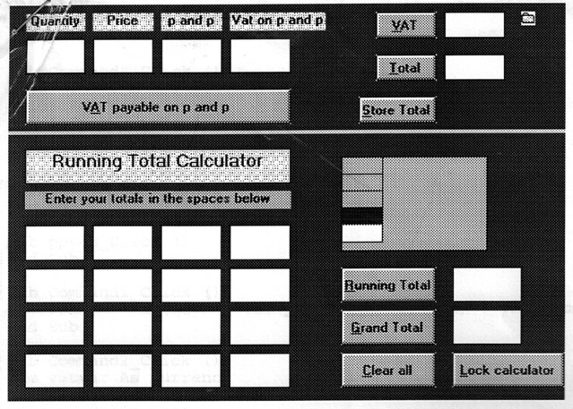 VBA calculator, by Terry Freedman