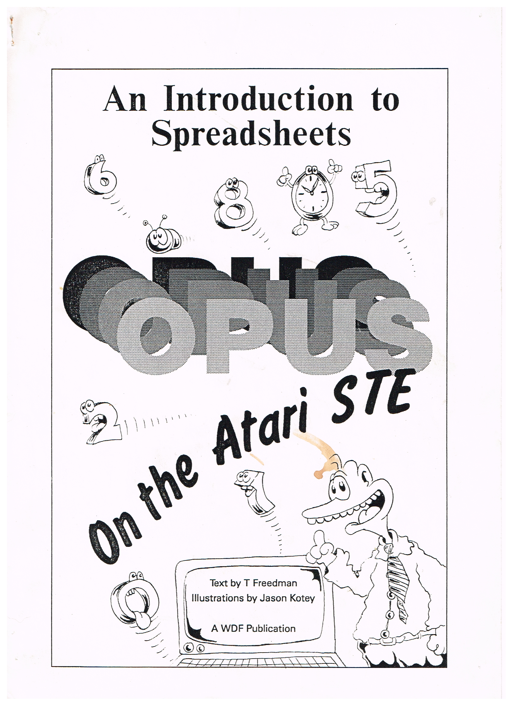 Spreadsheet manual by Terry Freedman