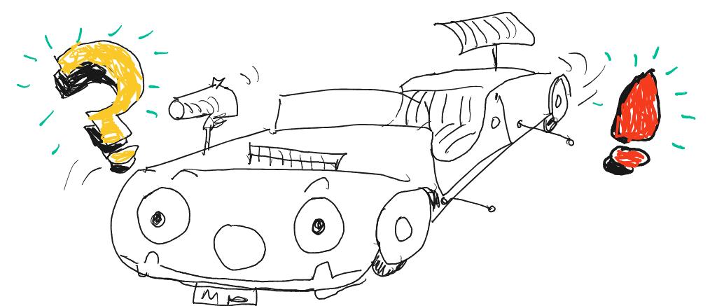 Driverless car by Terry Freedman.