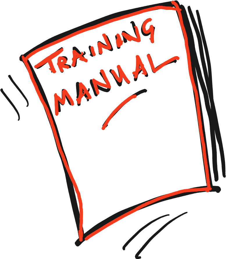 Training manual, by Terry Freedman