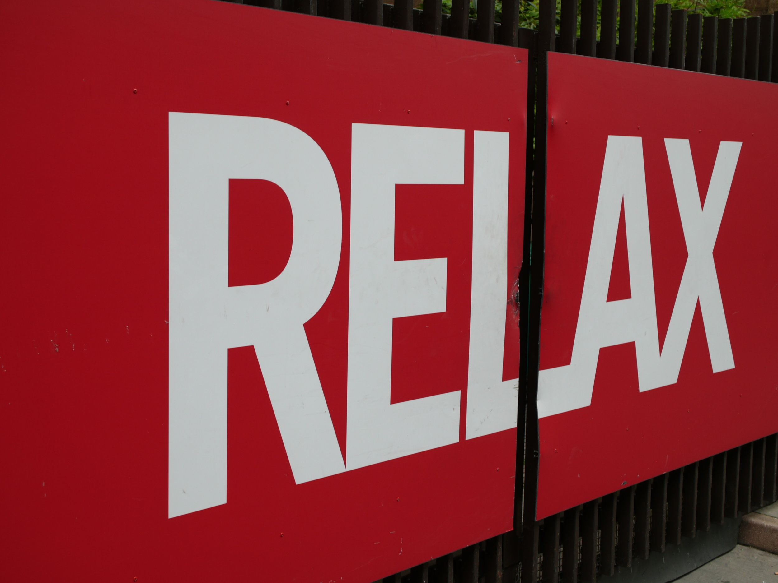 Relax, by Terry Freedman. I'm trying to, I'm trying!