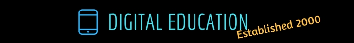 Click on the banner to go to the Digital Education newsletter information page.
