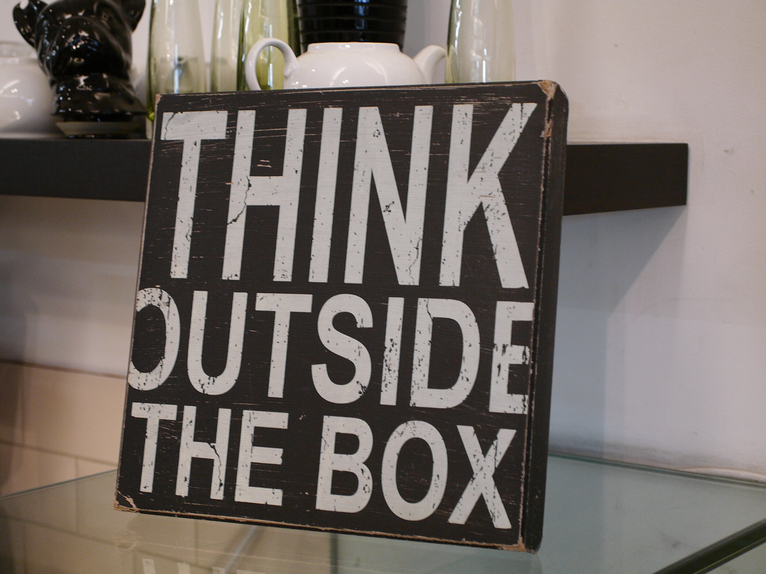 Think outside the box, by Terry Freedman