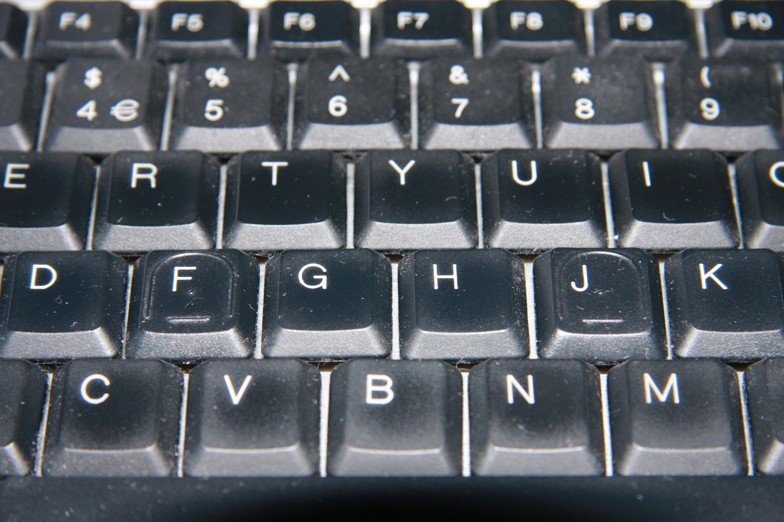 Keyboard, by Terry Freedman