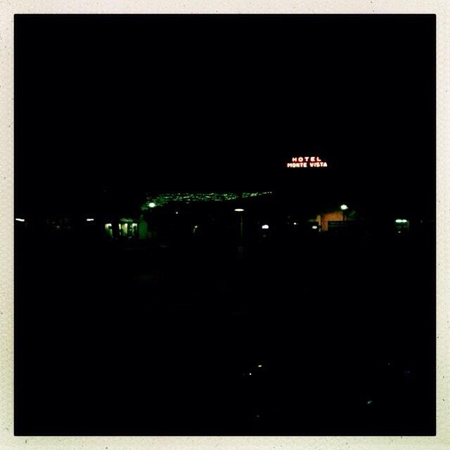Flagstaff Arizona, Blick aus dem Zug