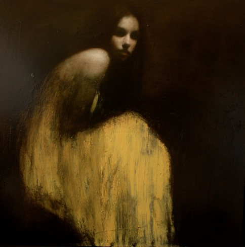 Mark Demsteader, Shallow Waters No2, Oil on Canvas, 109 x 109 cm