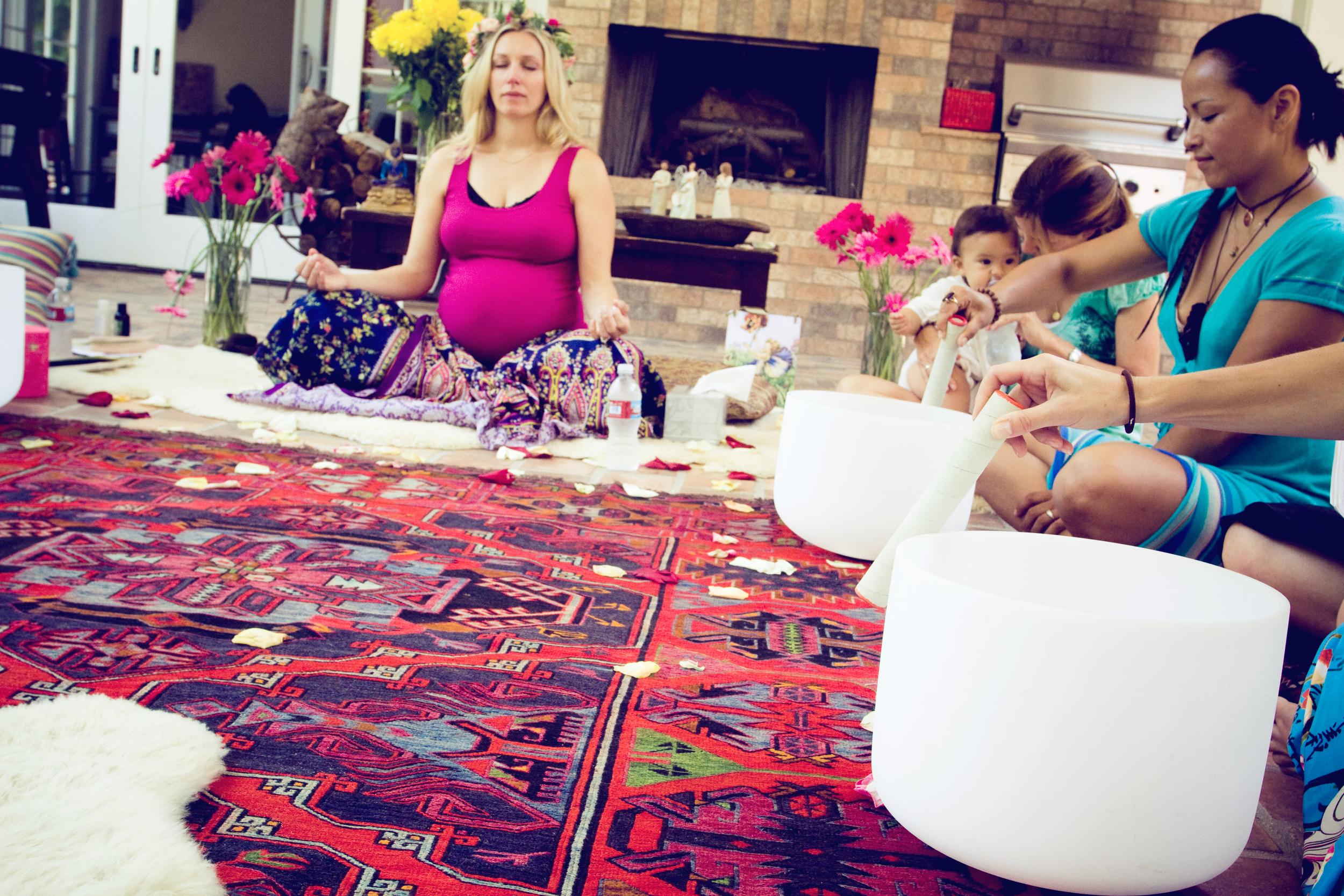 Blessingway via AnnapurnaLiving.com