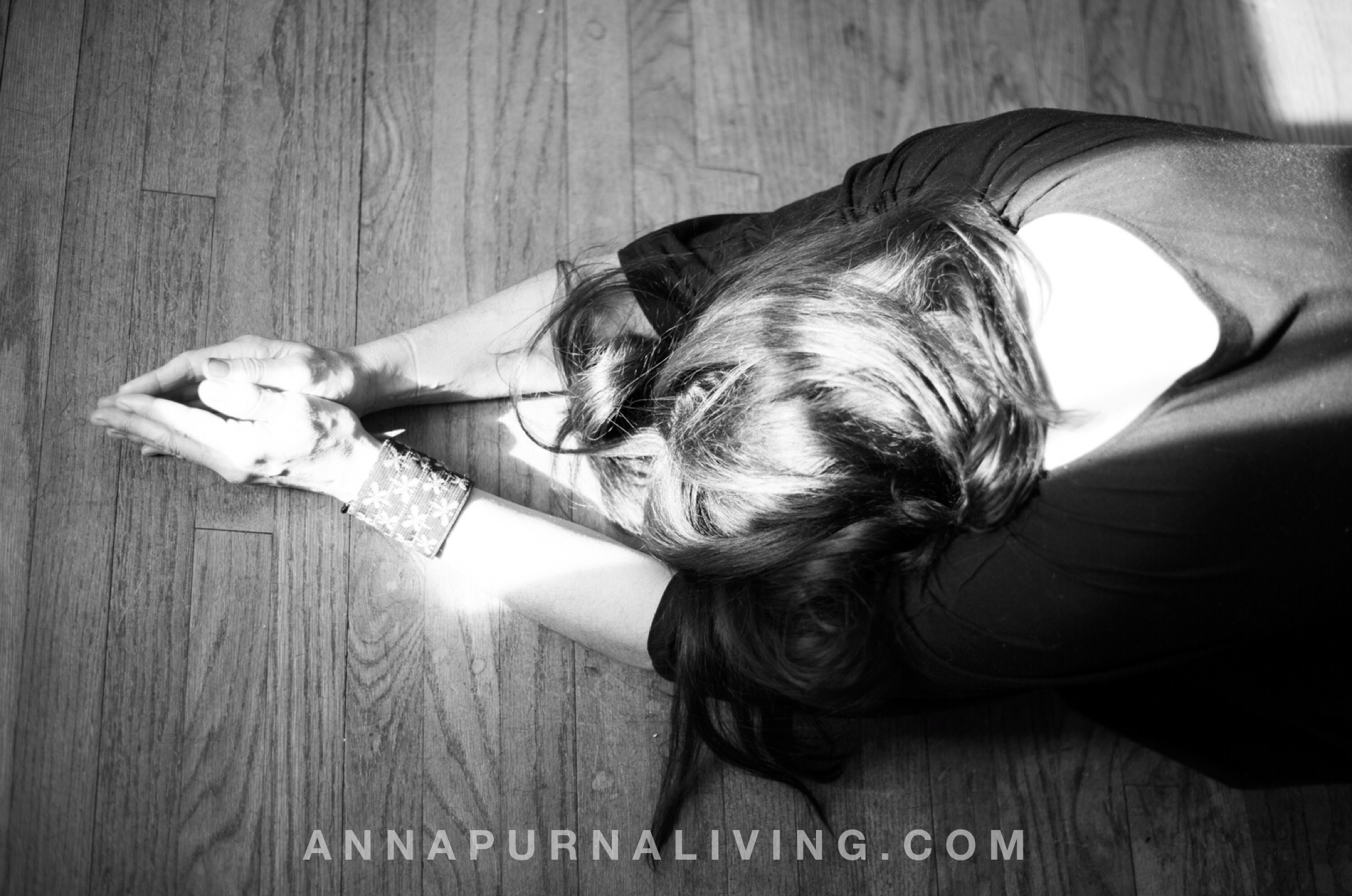 Centering In My Soul by Carrie-Anne Moss via AnnapurnaLiving.com