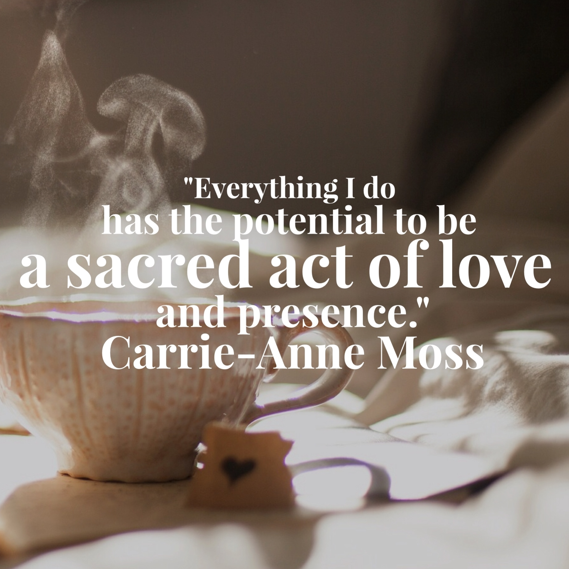 Sacred act of love via AnnapurnaLiving.com