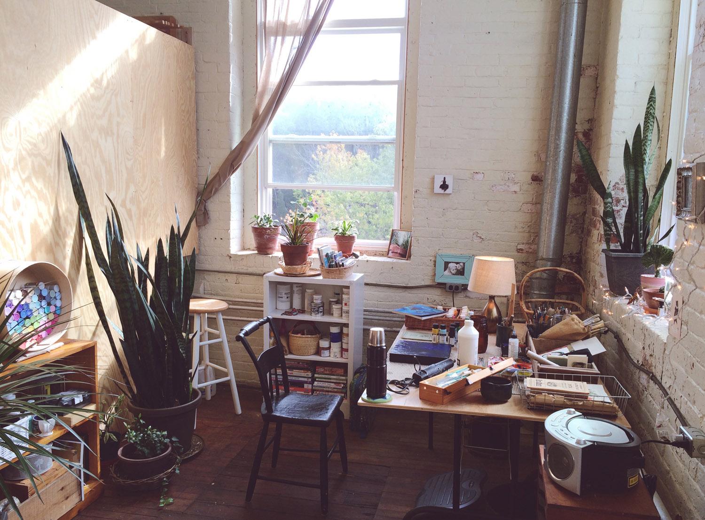 My art studio.