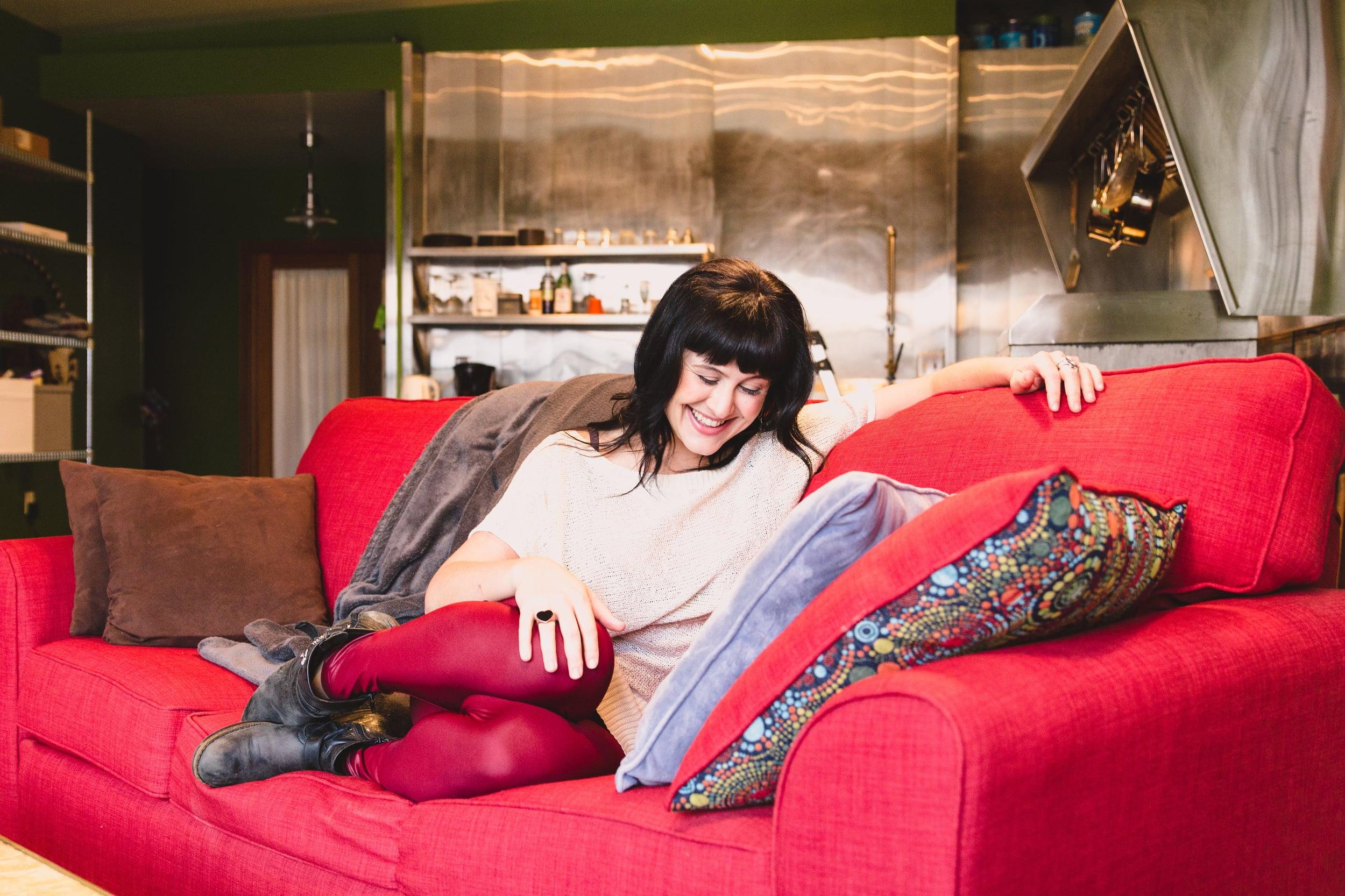 Photos of Alexandra Franzen by  Danielle Cohen .