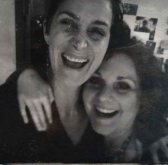carrie-anne moss and deb kern