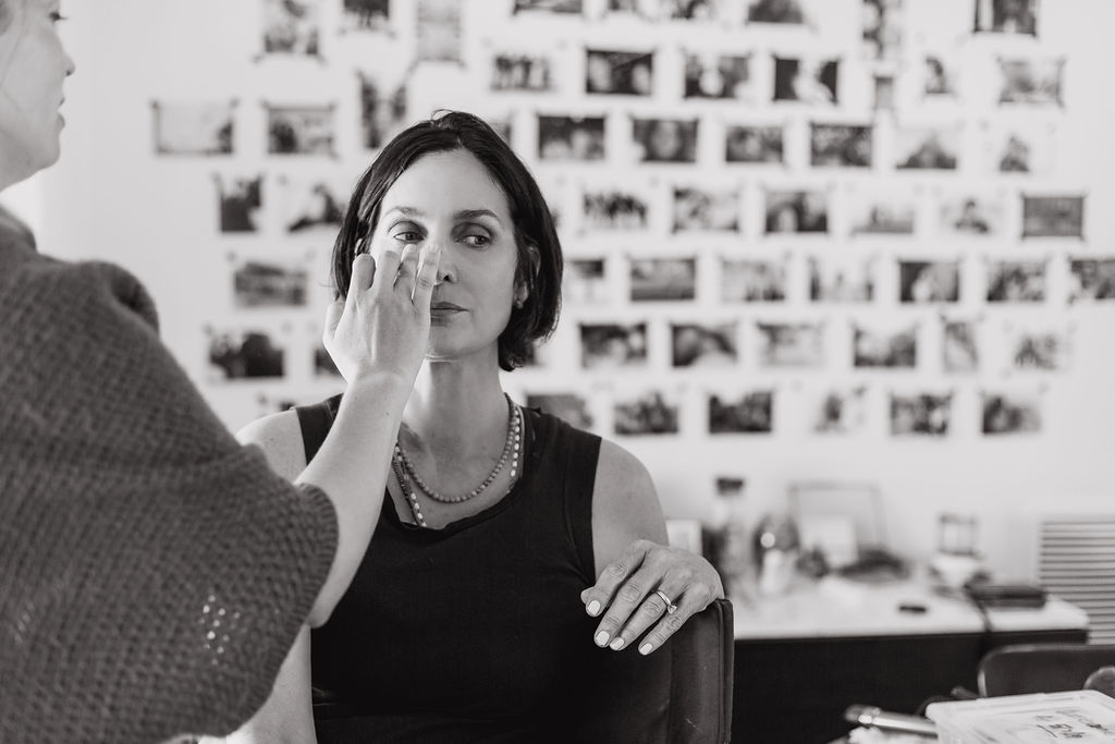 Carrie-Anne Moss by Danielle Cohen